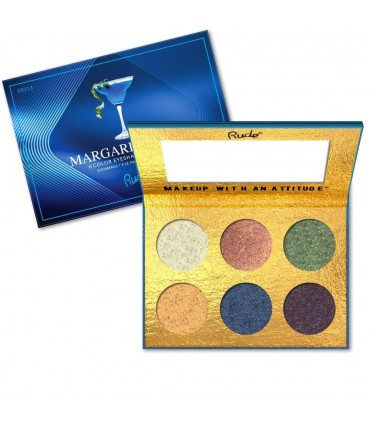 COCKTAIL PARTY 6 EYESHADOW PALETTE - Margarita Azul - RUDE COSMETICS