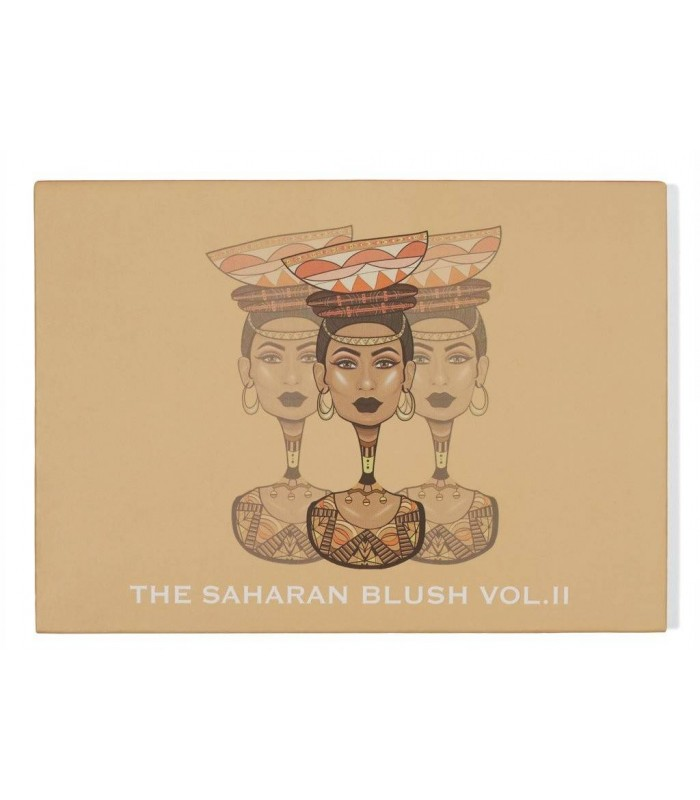 The Saharan Blush Palette PACK DUO Volume I + II  By JUVIA'S PLACE