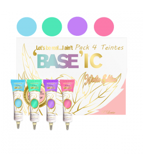 P.LOUISE BASEIC WINTER EDITION 15ML - PACK 4 TENTES PLOUISE -  64.4