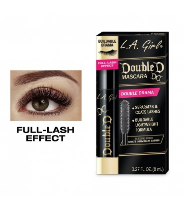 DOUBLE DRAMA MASCARA 8ml L.A GIRL COSMETICS LA GIRL -  8.4
