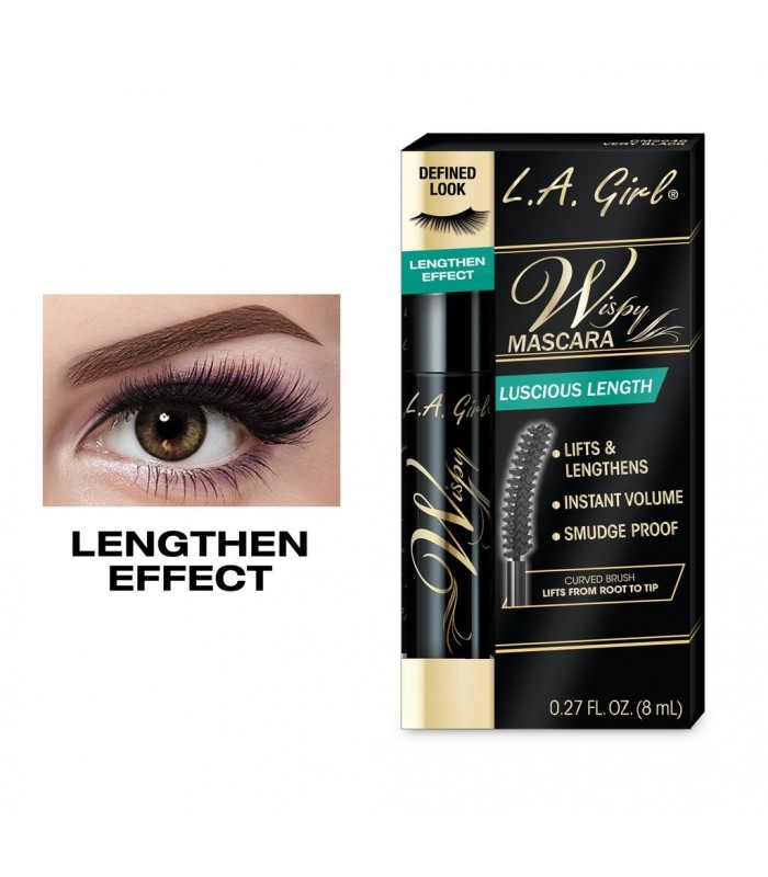 WISPY LASH MASCARA 8ml L.A GIRL COSMETICS LA GIRL -  8.4