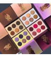 PACK 4 Eyeshadows Palettes BERRIES VIOLETS CHOCOLATES NUDES JUVIAS PLACE