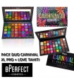 BPERFECT X STACEY MARIE - PACK DUO CARNIVAL III LOVE TAHITI + XL PRO PALETTE