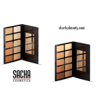 Foundation Palette CKARLYSBEAUTY.COM FACE POWDER PALETTE - Palette, Powder Compact 10 Shades by Sacha Cosmetics KAMAFLAGE FOUND