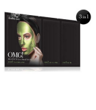 Masque VISAGE PLATINUM CKARLYSBEAUTY.COM OMG! PLATINUM GREEN FACIAL MASK KIT OMG! PLATINUM HOT PINK FACIAL MASK KIT