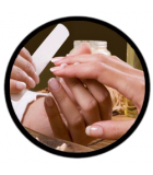 HANDS CKARLYSBEAUTY.COM One Minute Manicure - Scrub Hands for 1 minute 120ML - HEROME Hand cream 75ML - HEROME