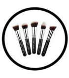 JUVIAS PLACE BRUSHES CKARLYSBEAUTY.COM JUVIA'S LETS BLEND IT OUT 5PCS SET JUVIA'S 5PCS BLENDING NEVER FELT SO GOOD (EYES)