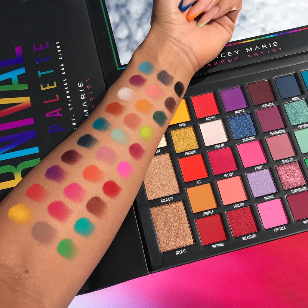 BPERFECT STACEY MARIE CARNIVAL XL PRO PALETTE BPERFECT CKARLYSBEAUTY.COM FRANCE