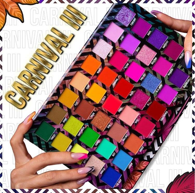 Carnival Volume III - PALETTE LOVE TAHITI CKARLYSBEAUTY