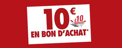 BON D'ACHAT DE 10 EUROS SUR CKARLYSBEAUTY.COM