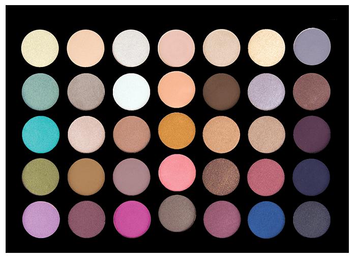 BACK to BASICS Eyeshadow Palette - Palette fards à paupières CROWNBRUSH