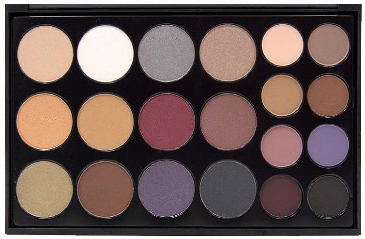 PRO EYESHADOW SMOKE Collection - Palette fards à paupières CROWNBRUSH