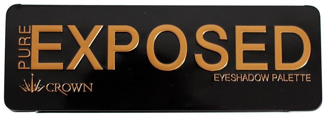 PURE EXPOSED EYESHADOW Palette - Palette fards à paupières CROWNBRUSH