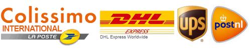 DHL EXPRESS LA POSTE NL UPS COLISSIMO INTERNATIOANL