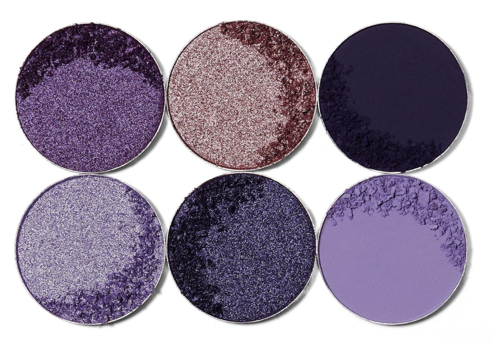 THE VIOLETS Eyeshadow Palette JUVIAS PLACE SUR CKARLYSBEAUTY.COM