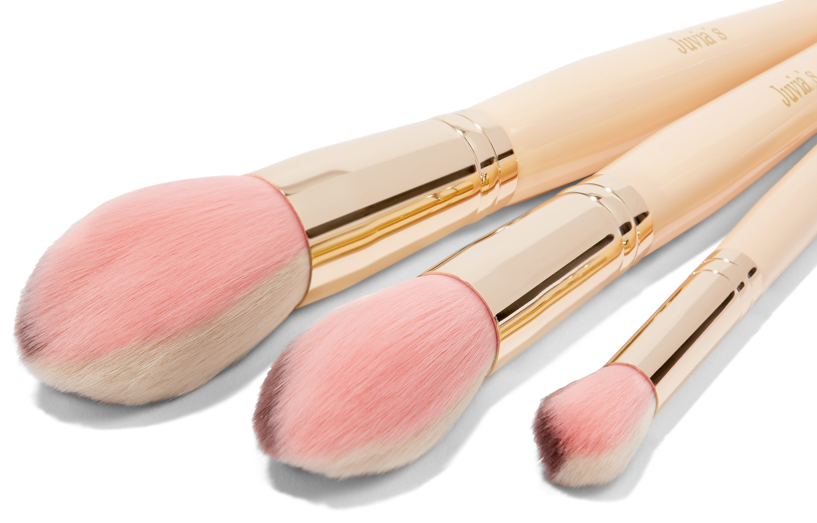 JUVIA'S 3PCS MULTICOLORED BRUSH SET