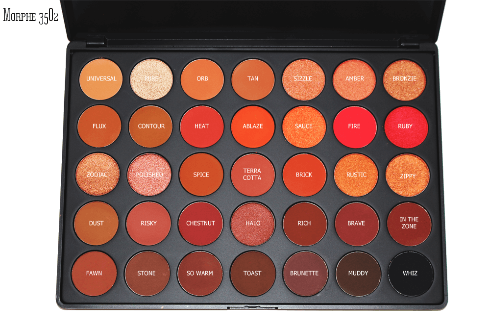 3502 SECOND NATURE EYESHADOW PALETTE