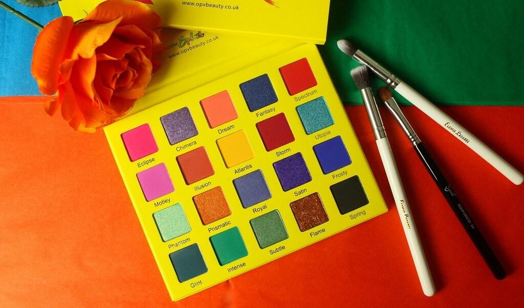 RAINBOW Splash Palette - 20 fards à paupières OPV BEAUTY
