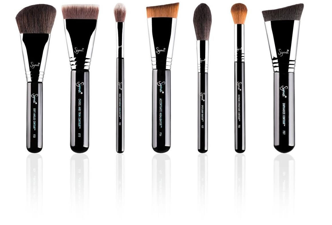 HIGHLIGHT & CONTOUR BRUSH SET - KIT PINCEAUX par SIGMA BEAUTY